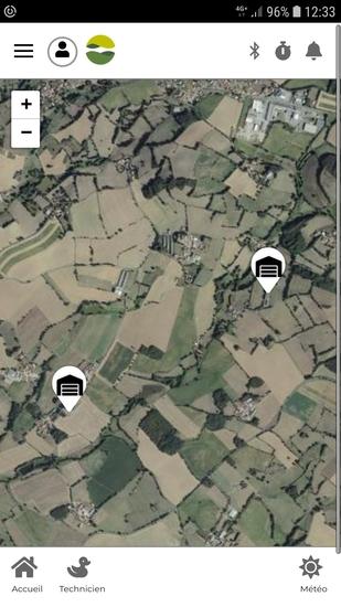 cartographie groupement