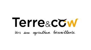 logo terre et cow et baseline